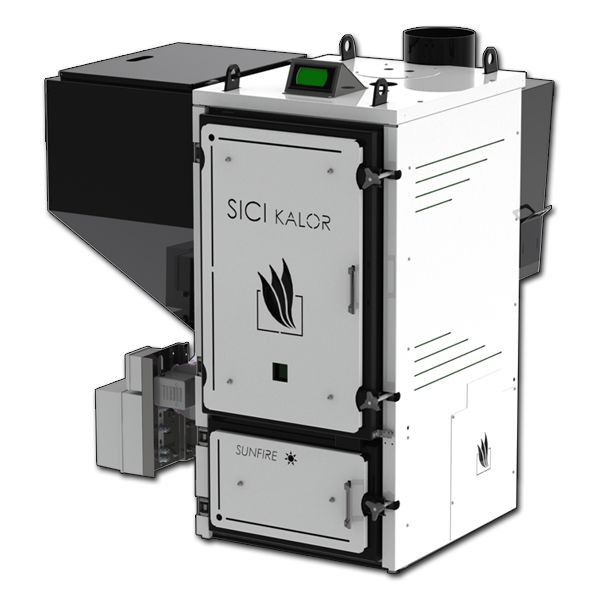 Sicikalor caldaia a biomassa sunfire35 termocamini for Caldaia a biomassa wikipedia